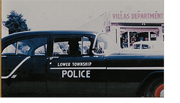 Classic Lower Township Police Car